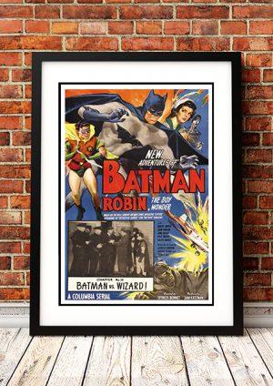 Batman Vs The Wizard – 1949
