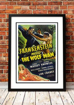 Frankenstein Meets The Wolf Man – 1943