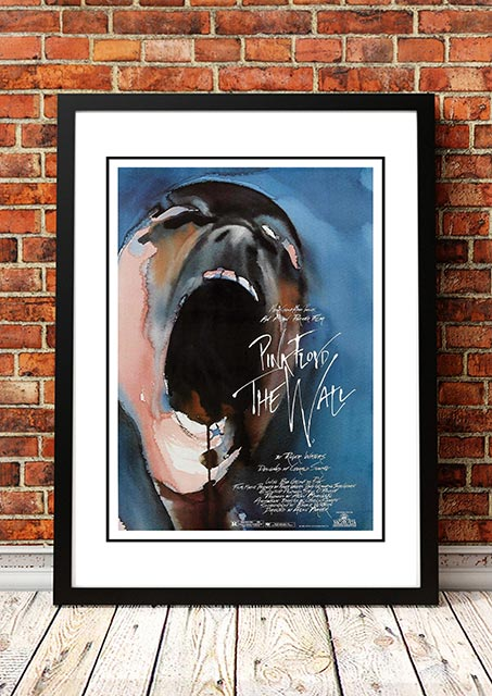 Enorm Pink Floyd 'The Wall' Movie Poster 1982 | Band, Concert & Tour ZO-28