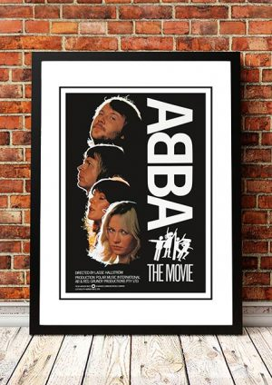 ABBA 'Abba: The Movie' Poster 1977