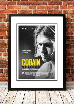 Nirvana 'Cobain' Movie Poster 2015
