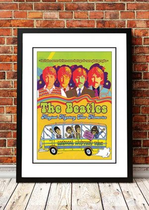 The Beatles 'Magical Mystery Tour' Movie Poster 1967