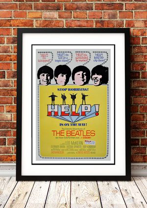 Beatles – 'Help' Movie Poster 1965