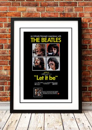 Beatles – 'Let It Be' Movie Poster 1970