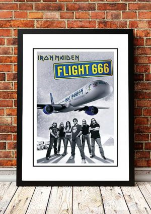 Iron Maiden 'Flight 666' Movie Poster 2009
