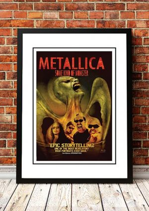 Metallica 'Some Kind Of Monster' Movie Poster 2003