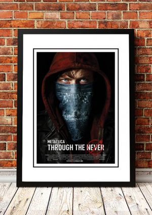 Metallica 'Through The Never' Movie Poster 2013