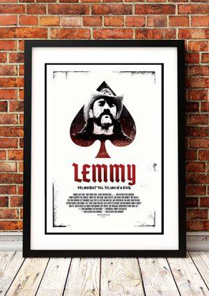Motorhead – 'Lemmy' Movie Poster 2010