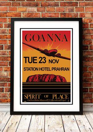 Goanna – 'Station Hotel' Melbourne Australia 1982