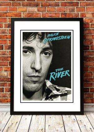 Bruce Springsteen 'The River' In Store Poster 1980