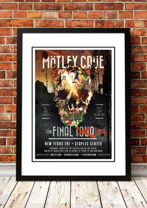 Motley Crue 'Final Show' Staples Centre, Los Angeles, USA 2015