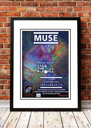 Muse 'Energy Solutions Arena' Salt Lake City, USA 2013