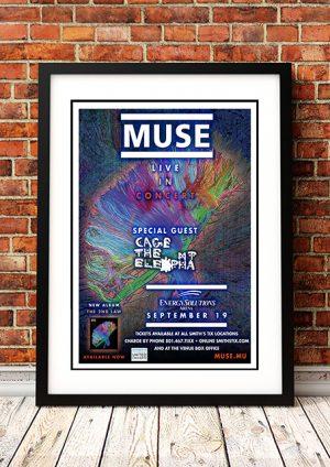 Muse – 'Energy Solutions Arena' Salt Lake City, USA 2013