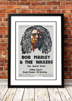 Bob Marley – 'Greek Theatre' California USA 1978