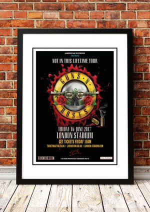 Guns N' Roses 'Not In This Lifetime Tour' London 2017