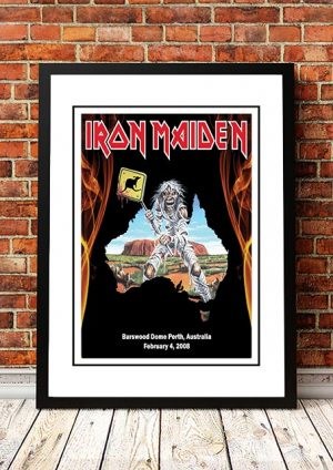 Iron Maiden 'Burswood Dome' Perth, Australia 2008