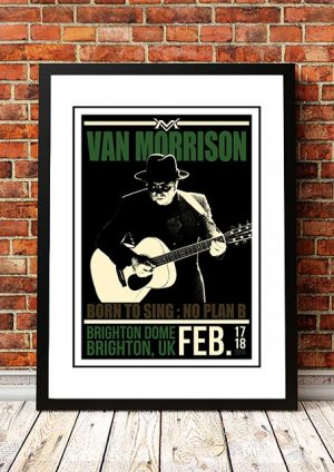 Van Morrison 'Brighton Dome' Brighton, UK 2014