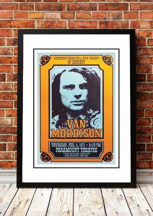 Van Morrison 'Paramount Theatre' Seattle, USA 1971