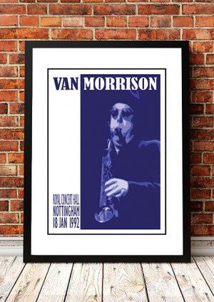 Van Morrison 'Royal Concert Hall' Nottingham, UK 1992