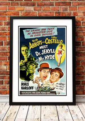 Abbott & Costello Meet Dr Jekyll & Mr Hyde – 1953