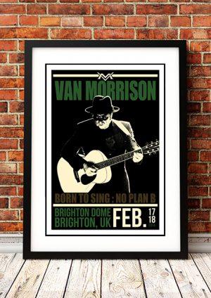 Van Morrison – 'Brighton Dome' Brighton UK 2014
