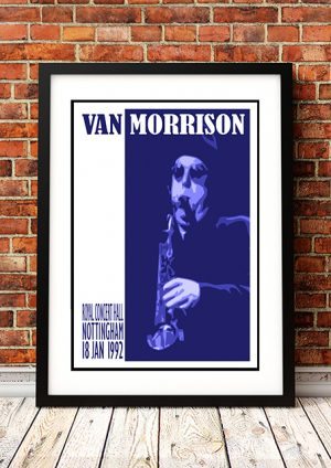 Van Morrison – Royal Concert Hall' Nottingham UK 1992