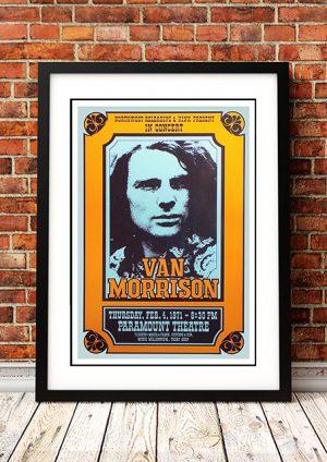 Van Morrison – 'Paramount Theatre' Seattle USA 1971
