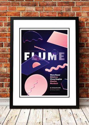 Flume 'Bill Graham Civic Auditorium' San Francisco, USA 2016