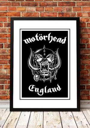 Motorhead 'England' In Store Poster
