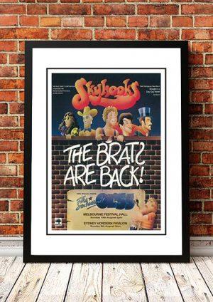 Skyhooks 'Brats Are Back' Sydney/Melbourne, Australia 1976