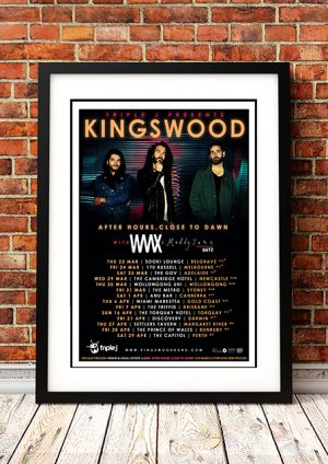 Kingswood – 'After Hours, Close To Dawn' – Australian Tour 2017