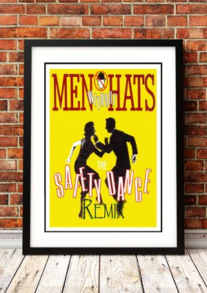 Men Without Hats – 'Safety Dance' – In Store Poster 1983