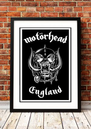 Motorhead – 'England' – In Store Poster