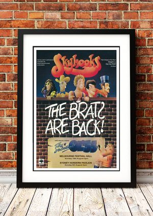 Skyhooks – 'Brats Are Back' Sydney/Melbourne Australia 1976
