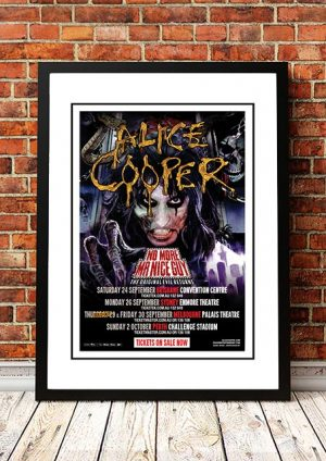 Alice Cooper 'No More Mr Nice Guy' Australian Tour 2011