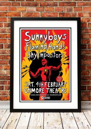 Sunnyboys / Flaming Hands – 'Enmore Theatre' – Sydney Australia 2017