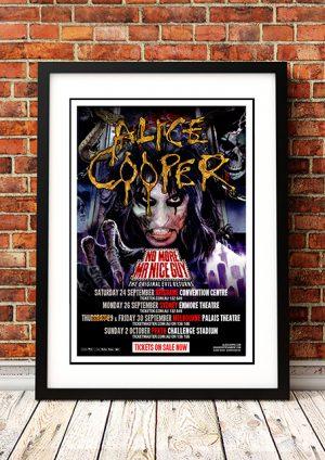 Alice Cooper 'No More Mr Nice Guy' – Australian Tour 2011
