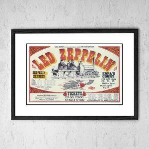 Led Zeppelin 'Zeppelin Express' Earls Court, UK 1975