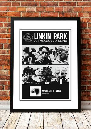 Linkin Park 'A Thousand Suns' In Store Poster 2010
