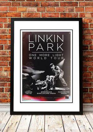 Linkin Park 'One More Light' UK Tour 2017