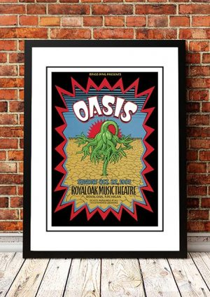 Oasis 'Royal Oak Theatre' Michigan, USA 1995