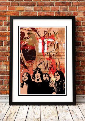 Pink Floyd 'Montage' Poster