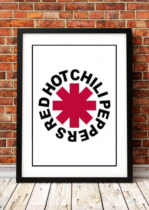 Red Hot Chili Peppers 'Logo' In Store Poster