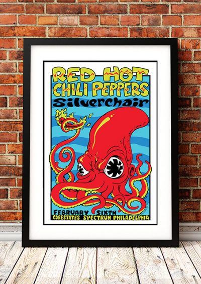 Red Hot Chili Peppers / Silverchair 'Corestates' - Philadelphia USA 1996-0