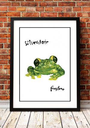 Silverchair 'Frogstomp' In Store Poster 1995