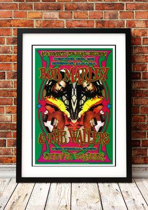 Bob Marley / Stevie Wonder – Kingston Jamaica 1975