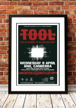 Tool – 'ANU' – Canberra Australia 1997