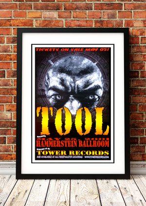 Tool – 'Hammerstein Ballroom' – New York USA 2001