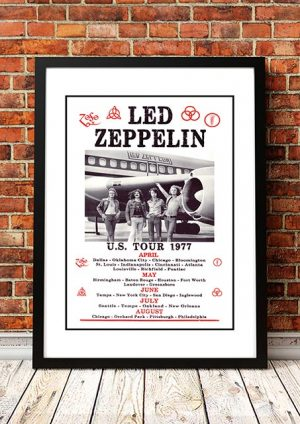 Led Zeppelin 'USA Tour' 1977