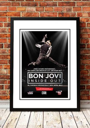 Bon Jovi 'Inside Out' Movie Poster 2012